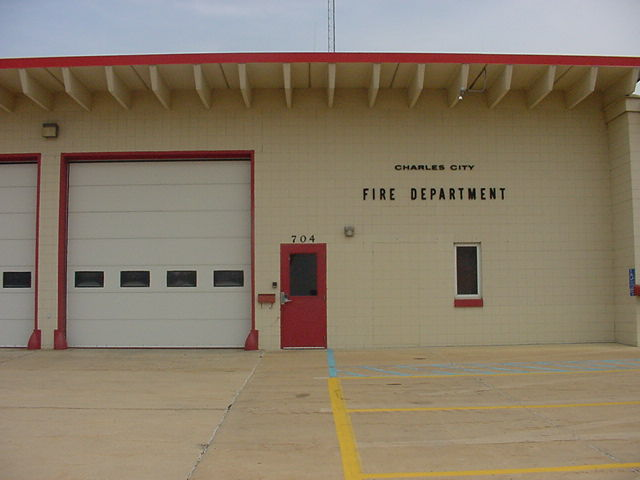 Charles City Fire Department, 617 Monroe Street, Charles City, IA