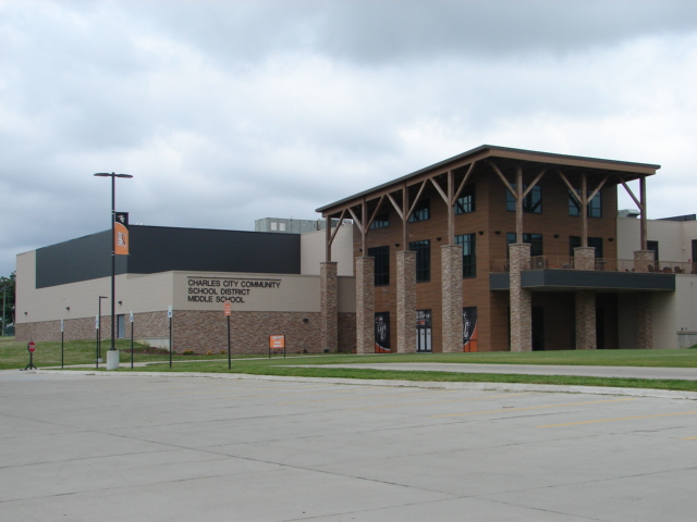 Charles City Middle School, Charles City, IA