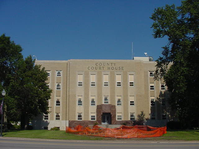 Floyd County Court House, 101 S. Main Street, Charles City, IA