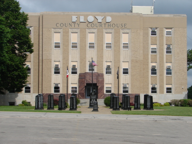 Floyd County Court House, Charles City, IA 50616