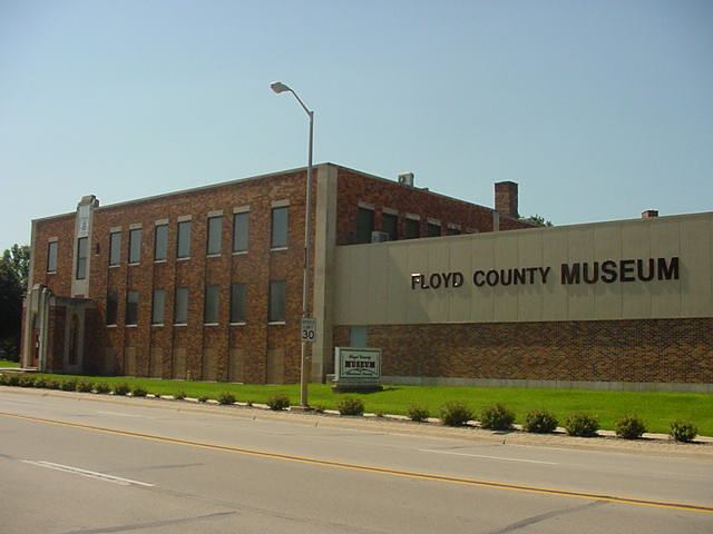 Floyd Co. Museum, 500 Gilbert Street, Charles City, IA