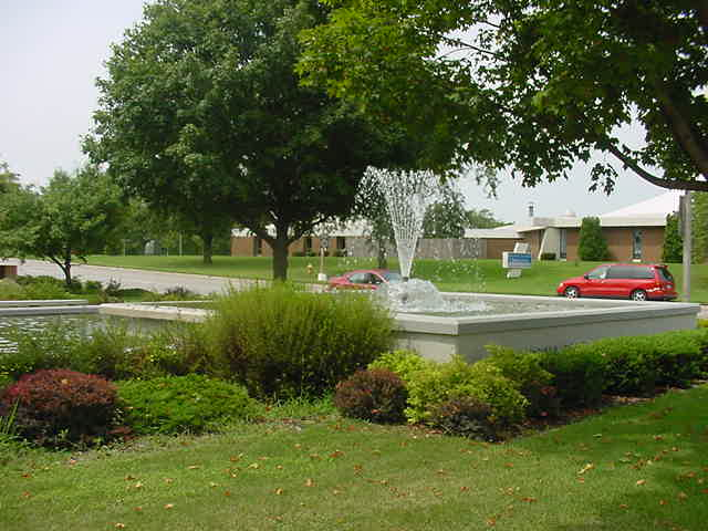 Memorial Park Fountain, Charles City, IA